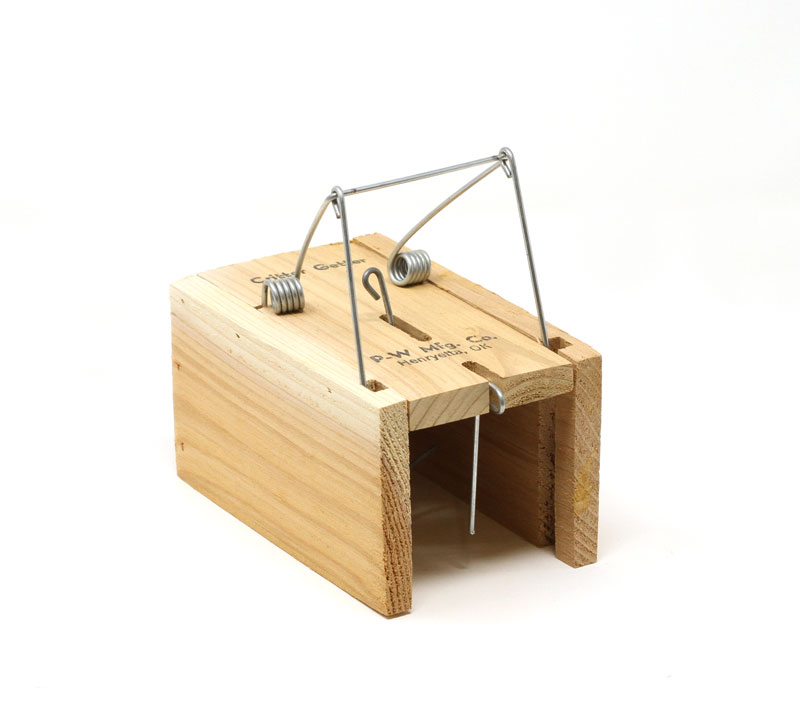 Critter Getter Wooden Squirrel Trap